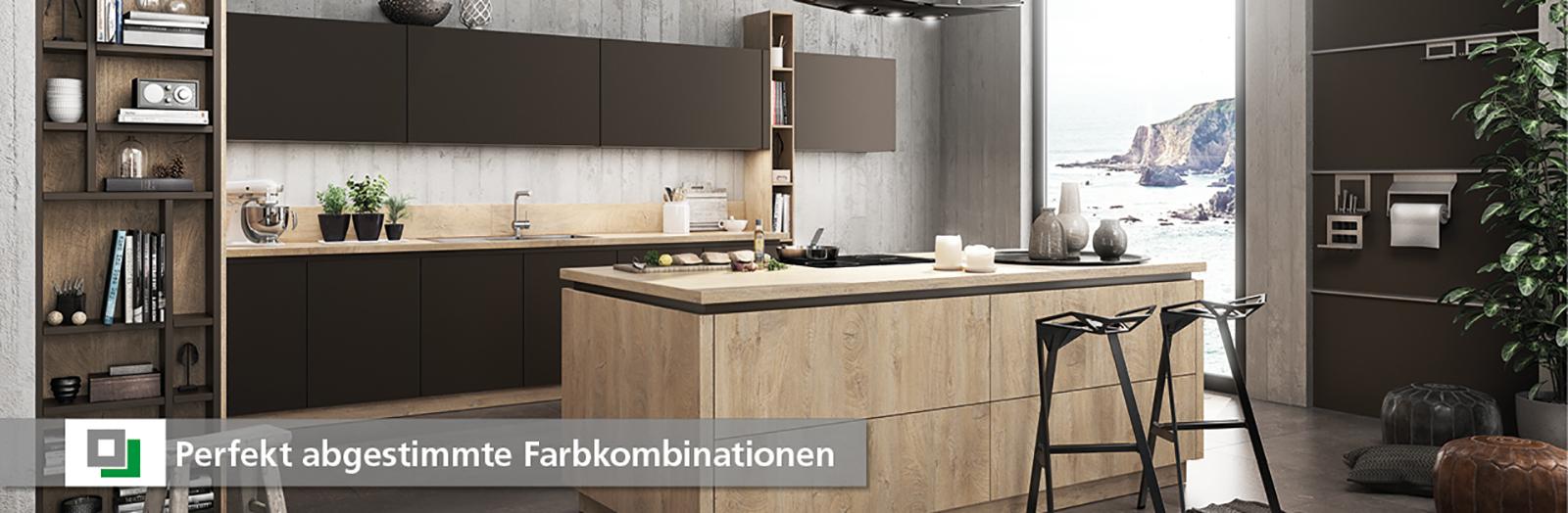 Moderne Küchen mit großer Auswahl an perfekten Farbkombinationen - Küche + Raum in 82152 Planegg, 85072 Eichstätt