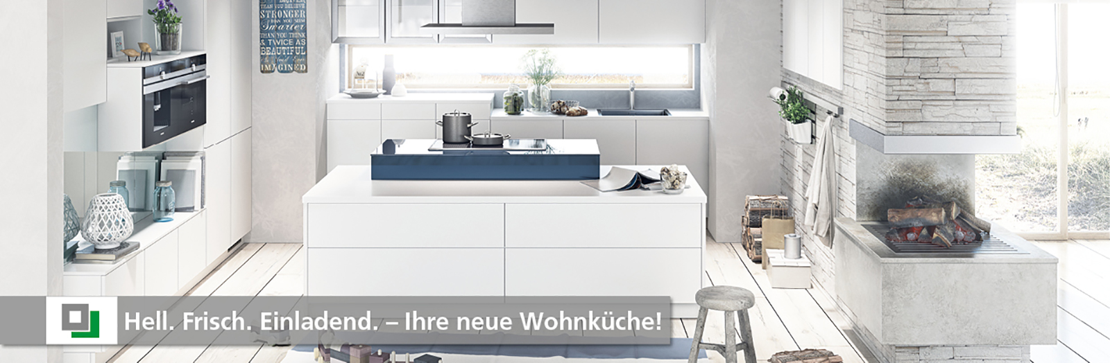 Ihre neue Wohnküche: hell, frisch und einladend - Küche und Raum - Ihr Küchenfachgeschäft in 82152 Planegg und 85072 Eichstätt