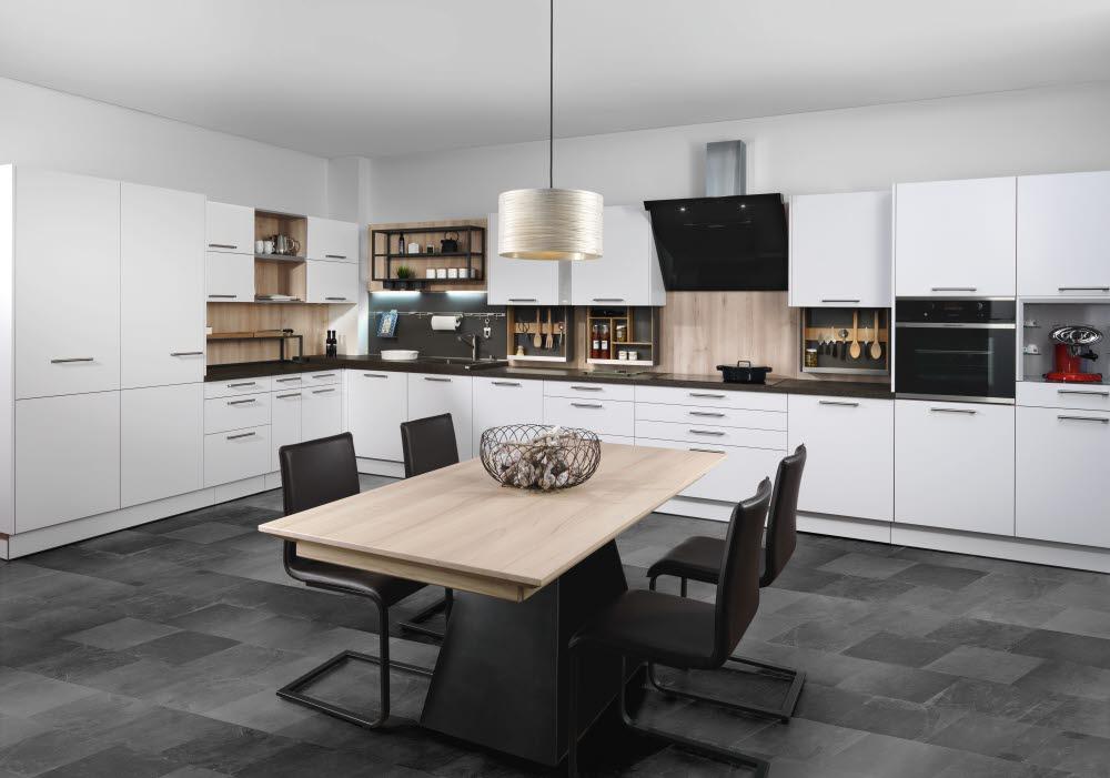 Klassische Küchen - Küche und Raum