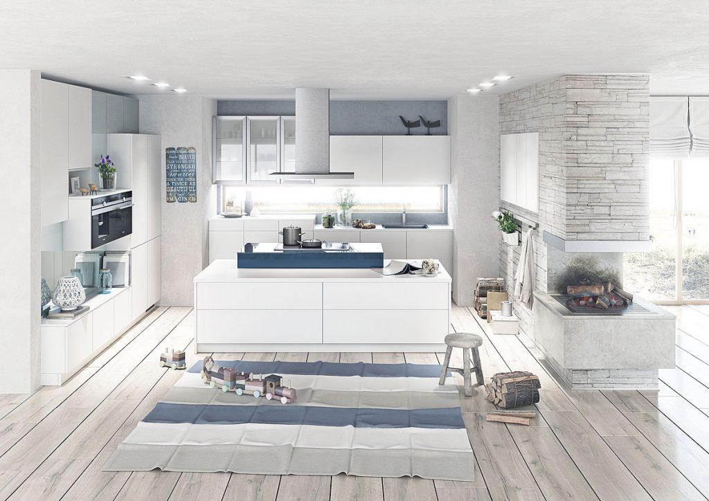 Moderne Kuchen Kuche Und Raum