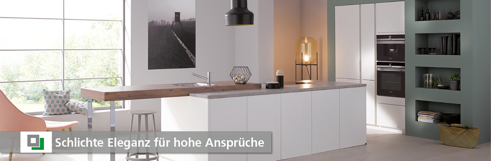 Design Küchen - schlichte Eleganz für hohe Ansprüche - Küche und Raum, 82152 Planegg, 85072 Eichstätt