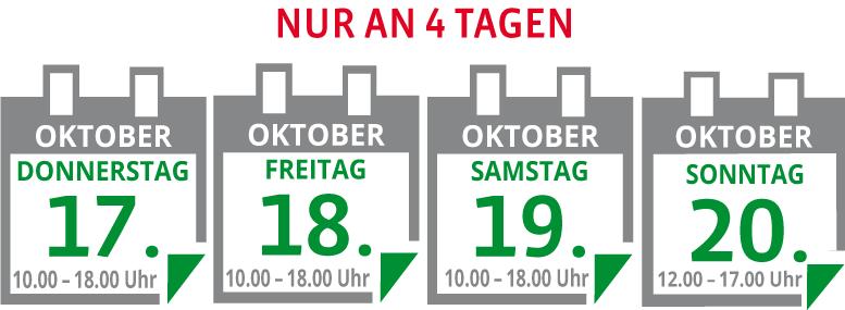 4 Tage exklusiver Küchen-Sonderverkauf vom 17. bis 20. Oktober in Planegg
